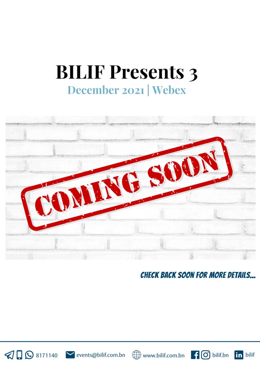 BILIF Presents 3